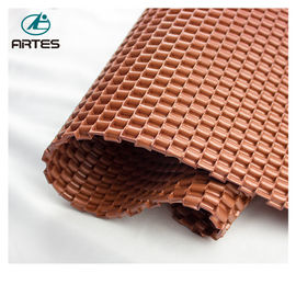 Custom Latexroll Out Pvc Flooring , Carpet Protector Mat For Electric Motorcycle Motor
