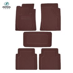 Wear Resisting Custom Automotive Floor Mats No Bad Smell Waterproof